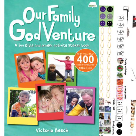 The original sticker activity book for families to explore Psalm 139 at home together