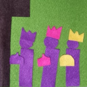 fuzzy felt wise men visit