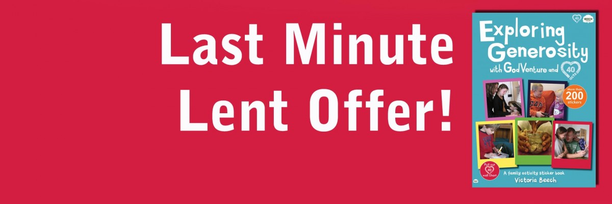 Last Minute Lent Offer