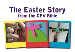 The Easter story from the Bible cover
