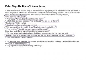 The Easter story from the Bible pages8