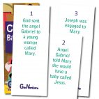 Christmas Bible Story Cards cards 1-3