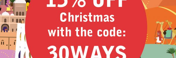 Christmas Shop 15% off code 30ways