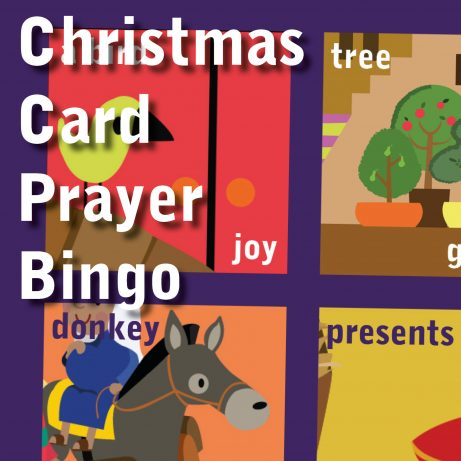 Christmas Card Prayer Bingo