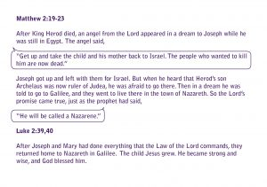 The Christmas story from the Bible page 20