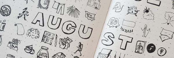 August thanks doodle picture prayer