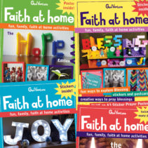 * Faith at Home * (mini-mag)