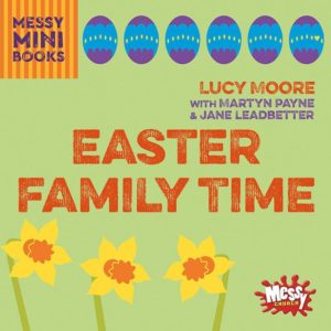 Clever little book with the Easter story and things to do woven into it