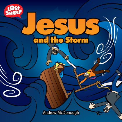 Lost Sheep book of Jesus calms the storm
