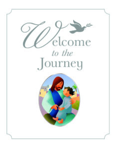 cover of welcome to the journey a brilliant baptism gift for children
